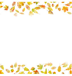 Autumnal seamless background eps 10 vector