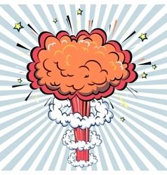 Boom of Comic Pop Art style vector image vector image