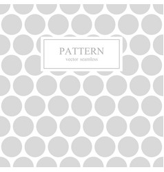 white and gray dotted seamless geometric pattern vector image vector image