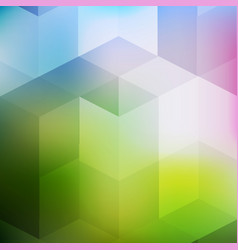 Abstract digital geometric hipster background vector