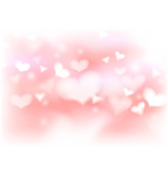 Abstract warm valentine background template vector image vector image