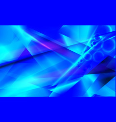 Blue futuristic abstract background vector