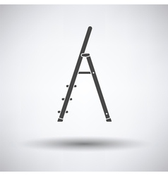 Construction ladder icon vector image