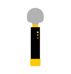 Dildos isolated vibrator on white background sex vector