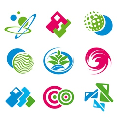 various symbols vector image vector image