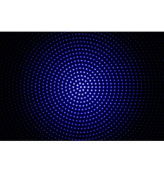 blue glowing techno background vector image