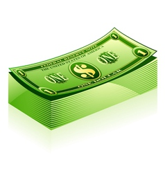 Dollar pack vector