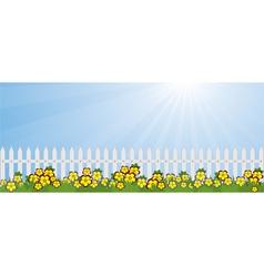 garden lawn vector image vector image