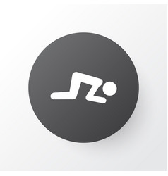 namaz icon symbol premium quality isolated sajdah vector image vector image