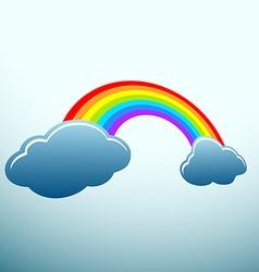 Rainbow stock vector