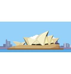 Sydney opera house vector