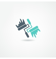 Painter icon vector
