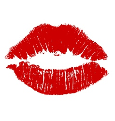 Kiss lips vector