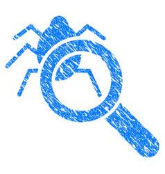 Debugger explorer grunge icon vector