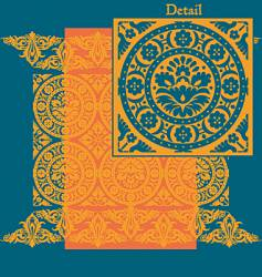 traditional patterns vector image vector image