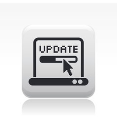 update icon vector image vector image