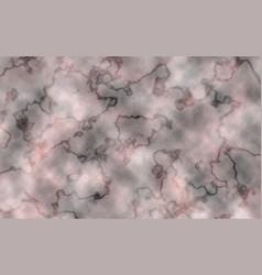 White- black-pink marble texture vector