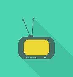 Tv flat icon2 vector