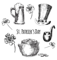 Day of st patrick vector