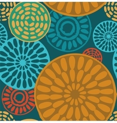 Seamless geometric tribal vintage patterns vector