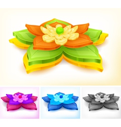 flower element vector image vector image