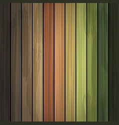 multicolor grunge wood background texture vector image
