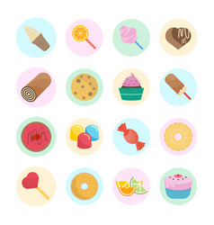 Set of candy vector
