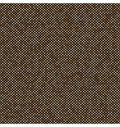 Gold seamless pattern dot circle background vector