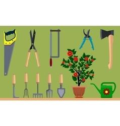 Instrument for gardening vector image