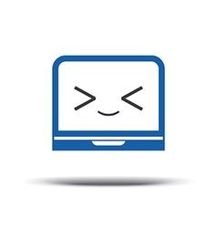 Programmer logo code editor icon logo design vector