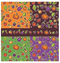 Vegan pattern vector