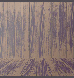 Wooden wall background vector