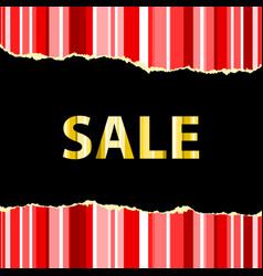 Sale banner template vector