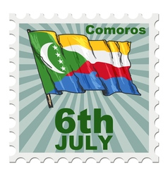 National day of comoros vector