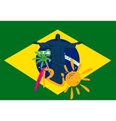 Rio 2016 games eps 10 sport vector