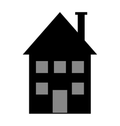 House construction real estate icon vector