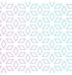 Cute rhombus shape pattern background minimal vector
