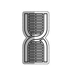 Human dna symbol vector
