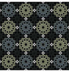 Lace fabric vector