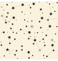 Cute stars background vector