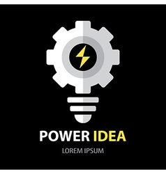 Power idea symbol vector