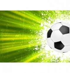 Grunge burst football poster  vector