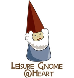 Leisure gnome vector