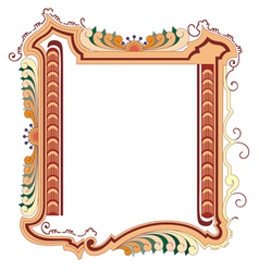 classical frame vector image