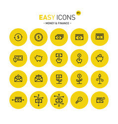 Easy icons 07c money vector