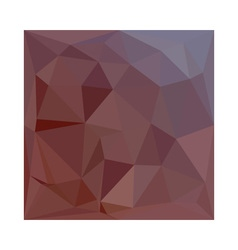 Indian red abstract low polygon background vector