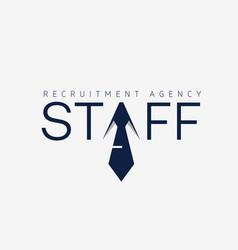 Staff logo vector