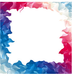 color abstract frame vector image