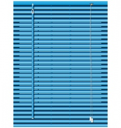 Venetian blinds vector