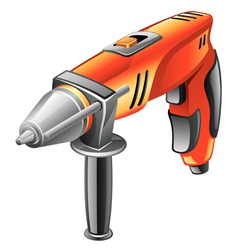 drill vector image